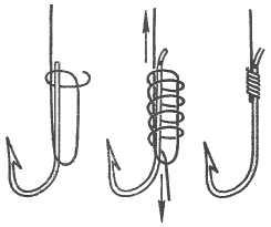 Как вязать крючки на сома