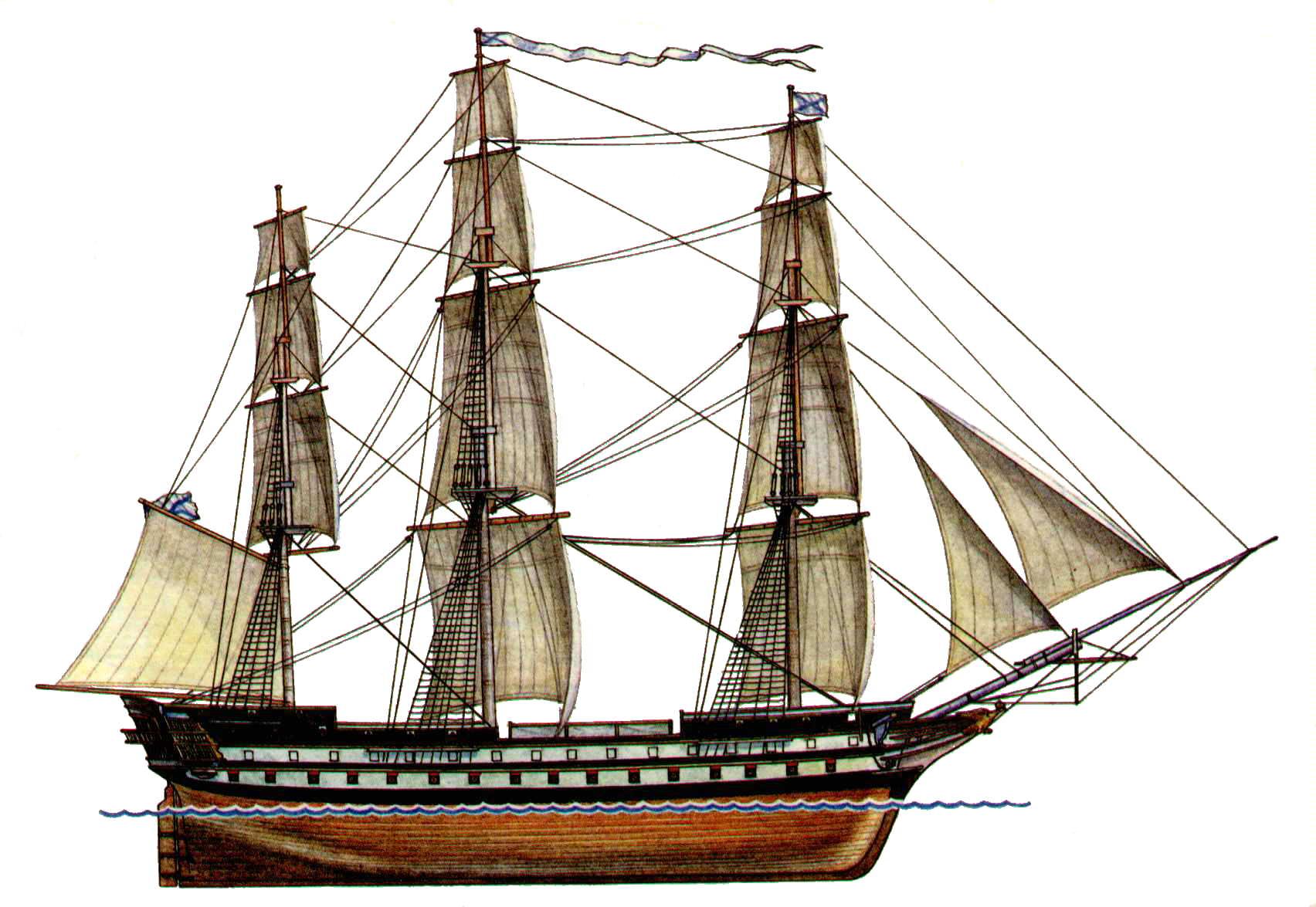 Линейный корабль  Википедия